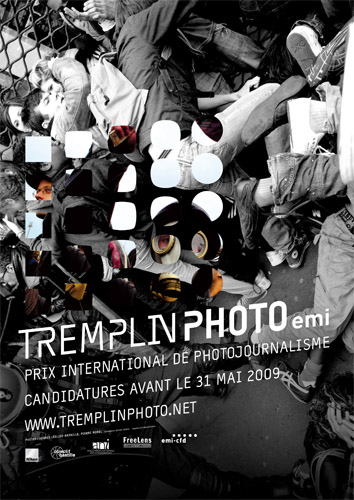 Affiche du Tremplin Photo 2009